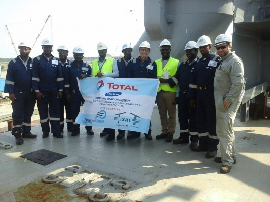 FORTUNE GLOBAL SHIPPING AND LOGISTICS AND SAL STAFF DURING EGINA (FPSO) PROJECT
