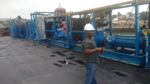 FORTUNE GLOBAL SHIPPING AND LOGISTICS HANDLING RANGER SUBSEA PIPE PRE-COMMISSIONING EQUIPMENT FROM PORT HARCOURT, NG (PHC) TO OML BAYELSA OFFSHORE_11
