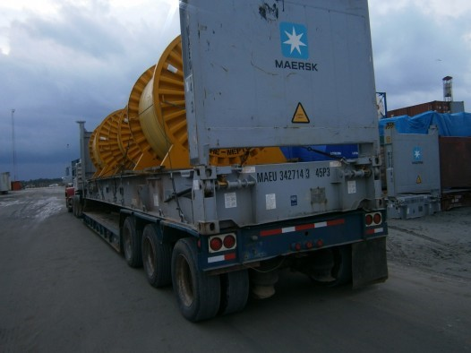 FORTUNE GLOBAL SHIPPING AND LOGISTICS PERFORMS HEAVY LIFTS OPERATION FOR OFFSHORE PIPELINE INT'L
